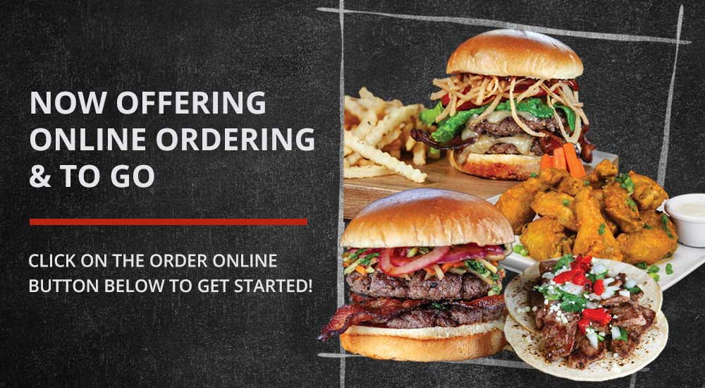 Now offering online ordering and to go. Click on the order online button below to get started!