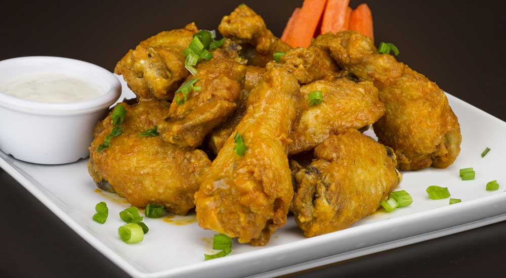 Food Menu - Wings