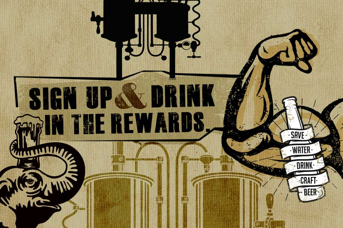 Sign Up and Drink in the Rewards